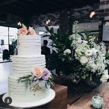 semi cake wedding cake simple elegant romantic fresh