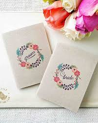 Wedding Booklets 14 Wedding Vow Booklets We Love Martha Stewart Weddings