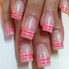 funky fresh french nail art ideas