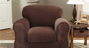 Stretch Covers For Armchairs Recliner Furniture Good Brown Recliner Slipcover And Armchair