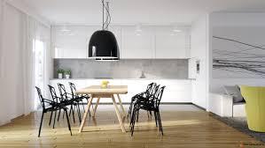 dining room geometric scandinavian dining room features modern