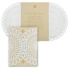 Vintage Lace Wedding Invitations Lace Wedding Invitation