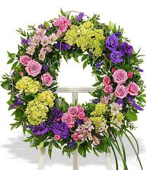 flower wreath funeral flower wreath florist delivery carithers flowers