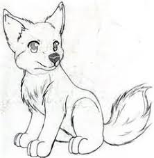 cool wolf easy to draw google search nice drawing ideas