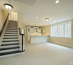 Carpeting For Basements by Peach Color In The Basement