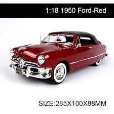 collectible model cars 1 18 diecast car 1950 cars 1 18 alloy car metal vehicle