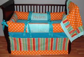 Orange Crib Bedding Sets Hudson Baby Bedding This Custom 3 Pc Baby Crib Bedding Set