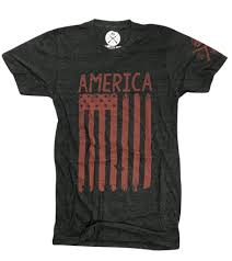 Black And Blue Flag Men U0027s My American Flag Heather Black Made In Usa T Shirt U2013 Red