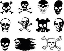 this will help you create cool evil skull drawings