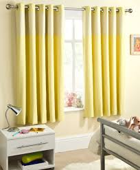 Blackout Curtains For Nursery Yellow Curtains Nursery Thenurseries