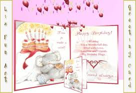 second life marketplace happy birthday card cute with personal