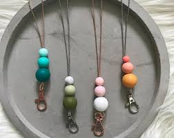 silicone bead necklace images Silicone beads etsy jpg
