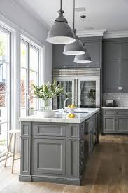 Best Colors For Kitchen Cabinets Nice Gray Kitchen Cabinets U2013 Interiorvues
