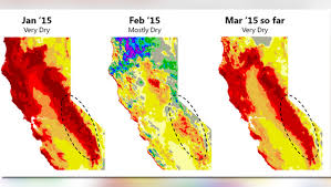 california drought map january 2016 after warmest winter drought stricken california limits water but