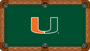 miami hurricanes game room accessories and college products for sale