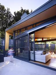 Contemporary House Designs Melbourne Untamed Geometry Showcased By Modern House Exterior In Melbourne
