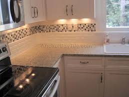Delightful Kitchen Backsplash Subway Tile With Accent - Kitchen backsplash subway tile