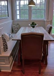 Best Diningroom Tables W Bench Seating Banquettes Images On - Dining room bench seat