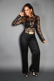 black dressy jumpsuits sleeves length black lace jumpsuit my styles shop