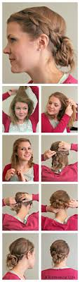 easy messy buns for shoulder length hair messy bun hairstyles for medium hair step by hairstyles