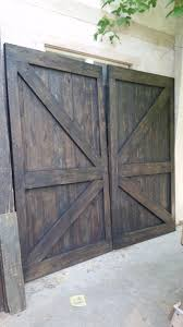 Barn Door Gate by Barn Door Construction Maurice And Sons Construction