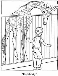 zoo coloring pages 3 coloring kids