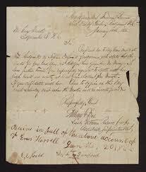 bureau gar n letter from freedmen s bureau to enos harrell