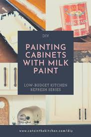 paint kitchen cabinets white diy diy painting our kitchen cabinets with white milk paint
