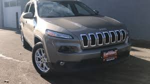 jeep cherokee gray 2017 certified pre owned 2017 jeep cherokee latitude 4d sport utility in