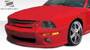 99 mustang bumper 99 04 ford mustang 5 conersion duraflex conv front kit