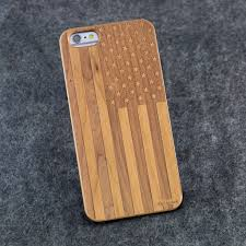 iphone 6 6s usa flag slim wood nolacase