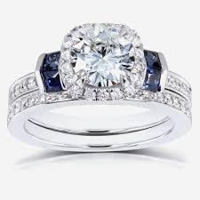 Diamond Sapphire Wedding Ring by Beautiful Diamond And Sapphire Wedding Rings Team 570