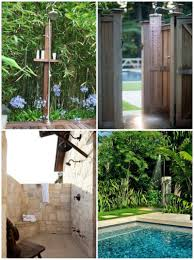 Outdoor Shower Pole by Outdoor Showers Diy Decorator