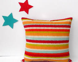 Orange Patio Cushions by Patio Cushions Etsy