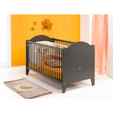 chambre bébé évolutif lit bébé évolutif 70 x 140 cm calypso gris lit bébé chambre