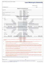 rmi forms standard supplied with space for you to fill in