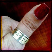 Gps Wedding Ring by Wedding Rings With Meaning Vows Now Get Just Married