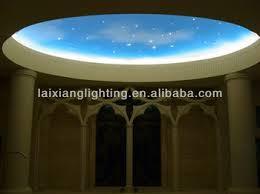 plafond chambre étoilé en plastique de fibre optique éclat ciel étoilé au plafond de