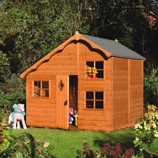 Wooden Backyard Playhouse Outdoor Playhouse Accessory Home Design How To Build Yourself