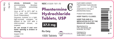 phentermine fda prescribing information side effects and uses