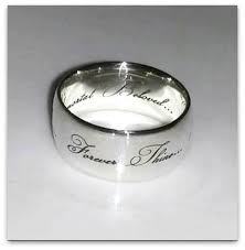 sterling silver name rings sterling silver name ring honeybunch