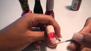 cat u0027s claws pencil nail design for stilettos tutorial