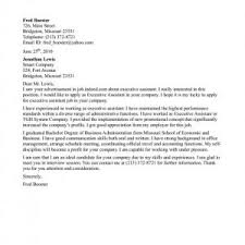 cover letter examples for administrative assistant cover sample