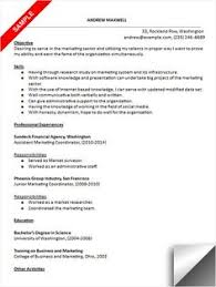 Marketing Coordinator Resume Sample by Customer Service Resume Sample Resume Examples Pinterest