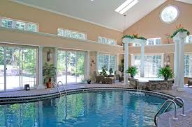 Pool House Ideas by Indoor Swimming Pool House Plans 6810