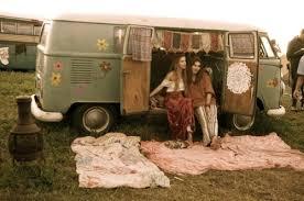 volkswagen van hippie curbside classic 1960 vw bus on the bus