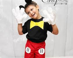 mickey mouse toddler costume mickey mouse costume etsy