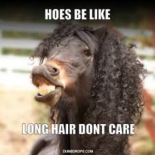 Long Hair Dont Care Meme - ratchet memes dumbdrops com