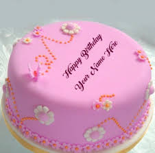 write name on birthday cakes for sister