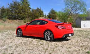 hyundai genesis coupe 3 8 turbo 2014 hyundai genesis coupe 3 8l r spec road test review